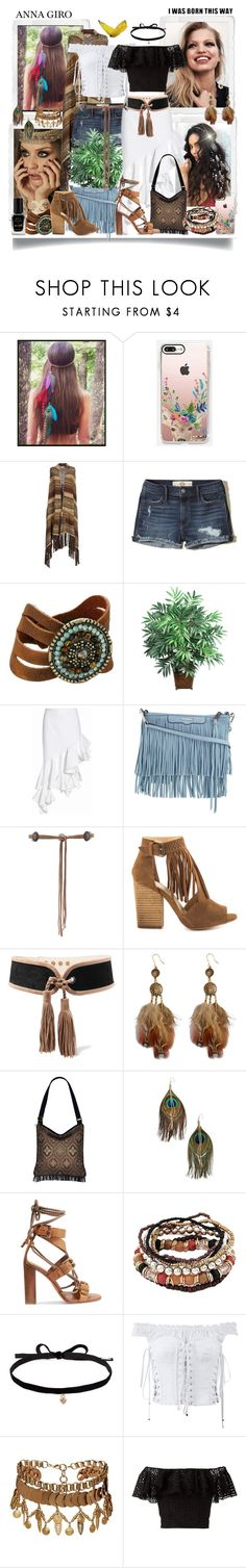 """I LOVE BOHO STYLE #1"" by annagiro ❤ liked on Polyvore featuring Behance, Casetify, Denim & Supply by Ralph Lauren, Hollister Co., Leatherock, Nearly Natural, Jacquemus, Rebecca Minkoff, Lovers + Friends and Chinese Laundry"