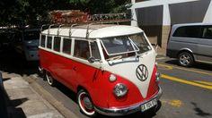 VW T1 in Stellenbosch South Africa