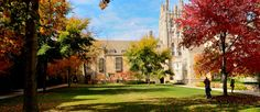 Yale University one of the 50 Most Beautiful Colleges in the Fall