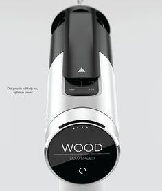 HOYO drill on Industrial Display, linjer, overganger, materialer, kontrast, grafisk info