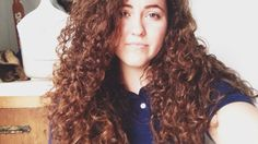 My hair has always been my biggest insecurity, but... - Curly beauty