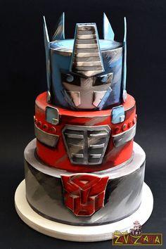 Rescue Bots Cake, Rescue Bots Birthday, Transformers Birthday Parties, 6th Birthday Parties, Birthday Ideas, Cupcakes, Cupcake Cakes, Transformer Birthday, Transformer Cake