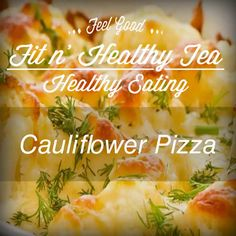 fitnhealthytea:  For Pizza lovers like us who want a healthier but still delicious alternative to dough.  1 medium/large Cauliflower head Parmesan and mozzarella cheese (¼ cup each) Dried basil Salt Oregano Garlic Powder Red pepper flakes 1 egg 1. Wash and dry the cauliflower, then cut off the stem and cut the cauliflower into small chunks. 2. Pulse in the food processor for about 30-40 seconds until it has a snow-like consistency. 3. Place the cauliflower into a microwave safe bowl, cover…