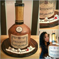 hennessy birthday cake hennessy cake uploaded by an inkedibles customer into an 4786