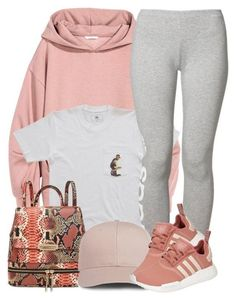 """""""1 18 17"""" by miizz-starburst ❤ liked on Polyvore featuring adidas Originals and adidas"""