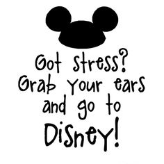No if I go to Disney, I will be even more stressed about how much it costs