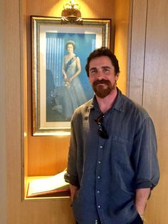 Christian Bale at the British Consulate, October 2015.   Picture courtesy of the UK British Consulate