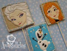 Frozen Cookies by Amigalletas on Etsy, $42.00