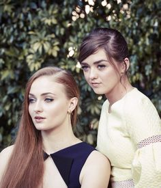 Sophie Turner, Maisie Williams – The New York Times Photoshoot March 2015
