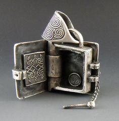 Book of Kells locket Pendant