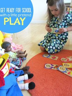 {Work Through Worries with Play School} Children aren't always the best at expressing their anxiety. Great tips on helping little ones adjust to the new school year.