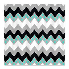 Love the chevron with the polka dots.  maybe a wall for my girls room in aqua, pink and lavender.