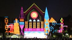 Lumenocity 2014 in Cincinnati Ohio. This is where I will be on Sunday! Over The Rhine Cincinnati, Cincinnati Art, Stuff To Do, Things To Do, My Fantasy World, Projection Mapping, City Life, Day Trips, Ohio