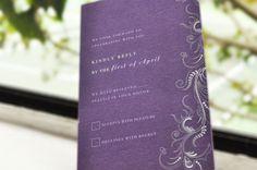 Feature Design: Olive Purple Invitations   http://www.mycreativebuds.com/feature-design-olive-purple-invitations/#