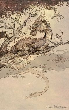 Year of the Water Dragon by KatePfeilschiefter.deviantart.com on @deviantART