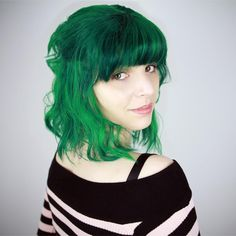 Not many people can pull of hair this color...But Emma Blackery most certainly pulls it off.