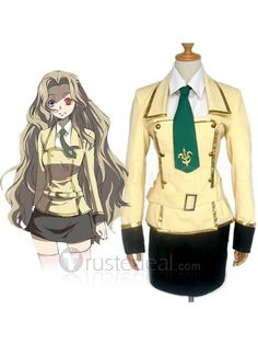 Code Geass Lelouch of the Rebellion Milly Ashford Nunnally Lamperouge Cosplay Costume $56.99 - Code Geass Cosplay - Anime Costume - Cosplay Costume - Trustedeal.com