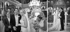 Elegant Santorini Wedding at Theros Wave Bar Church Ceremony, Wedding Church, Santorini Wedding, Elegant Wedding, Waves, Wedding Dresses, Celebrities, Bride Dresses, Bridal Gowns