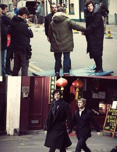 It always makes me happy when I see Johnlock in real life <3