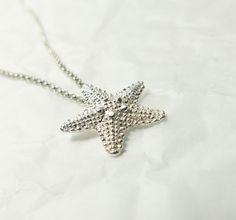Silberketten - Kette - Seestern ✩ 925 Silber Sommerkette Seastar - ein Designerstück von _Andressa_ bei DaWanda