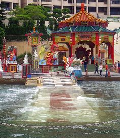images of temples in hong kong | ... – Tin Hau Temple – Repulse Bay – Hong Kong | Mosaic Art Source
