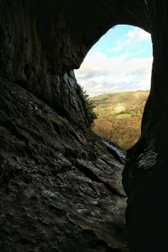 The View from Thor's Cave