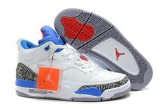 huge selection of 5fe96 a15a8 Jordan Son of Mars Low White Cement-Blue Red Cheap Jordan Shoes, Jordan