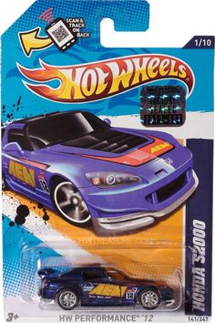 Honda S2000 Hot Wheels 2012 Super Treasure Hunt - HWtreasure.com