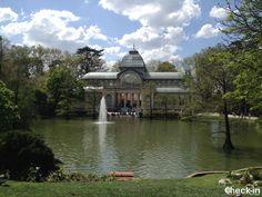 Il Palazzo di Cristallo nel Parco del Retiro di Madrid, #spagna