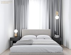 """Check out new work on my @Behance portfolio: """"Minimalist bedroom with a pich of extravagance"""" http://be.net/gallery/45810471/Minimalist-bedroom-with-a-pich-of-extravagance"""