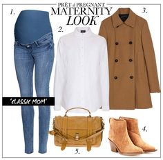 Maternity Look: Classic Mom
