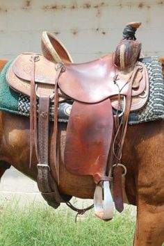 15 inch HR Saddlery Plate Rig Ranch Saddle for Sale - For more information click on the image or see ad # 34925 on www.RanchWorldAds.com