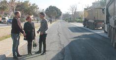 SALOBREÑA.Esta misma mañana han dado comienzo las obras de asfaltado de la avenida de Andalucía, el vial playa, unas obras muy esperadas que cuentan con un presupuesto de