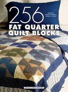 256 Fat Quarter Quilt Blocks Easy to Follow Instructions Dated 2005 Hardcover