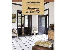 """Livre Art&Décoration : """"Maisons de famille"""", format poche"""