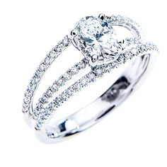 selling-diamond-engagement-ring-Engagement Rings Tension Settings