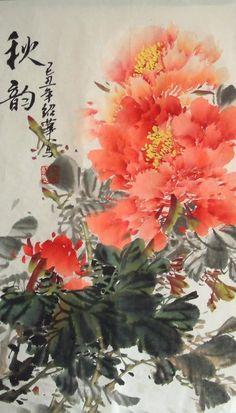 Chinese Painting: Peony - Chinese Painting CNAG234745 - Artisoo.com