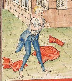 Bibel AT, dt.: Könige, Paralipomenon I und II, Esra, Tobias, Judith, Esther, Hiob — Stuttgart (?) -  Werkstatt Ludwig Henfflin, 1477 Cod. Pal. germ. 17 Folio 277v