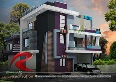 Rc Visualization is a growing Plan & Elevation Designing company. We are expert in architectural Planning, Elevation Designs, interior designs and realistic renderings. House Outer Design, House Roof Design, Two Story House Design, House Outside Design, Bungalow House Design, Small House Design, Facade House, Bungalow Designs, Indian House Exterior Design