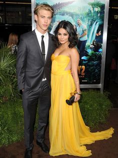 """Vanessa Hudgens on the red carpet for the """"Journey 2: The Mysterious Island"""" premiere"""