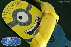 Busy Mom's Helper: Family fun, food, recipes and crafts.: One in a Minion Valentine