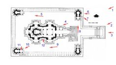 Lakshmana Temple. Khajuraho Plan of Lakshmana temple - very cool website that shows a photo of the spot when you click on the red arrows.