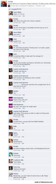 Disney Meets Facebook