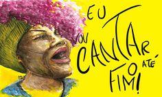 #ElzaSoares ~ Ilustração: Ana Maria Sena