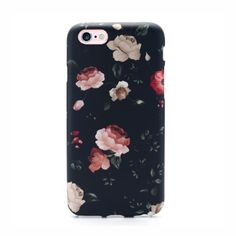 Ships within 24 hours Elemental Cases presents the Floral Case - Made of High Quality TPU Material - Rises Past Screen to Protect When Laying Flat - Wraps around entire iPhone for Full Protection - De