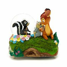 Disney Bambi - Schneekugel mit Musik