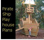 Pirate Ship Play House Plans - @Tamara Constien  I think the guys need to build this!