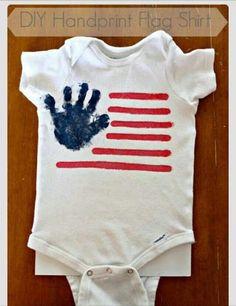 Diy handprint shirt