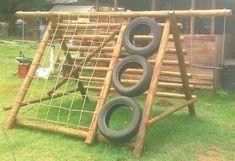 Bildresultat för homemade outside play equipment