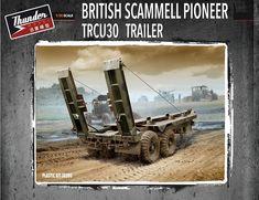 THUNDER MODELS 1/35 British TRCU30 Trailer 30t TM35205 #ThunderModels